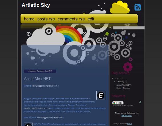 Artistic Sky