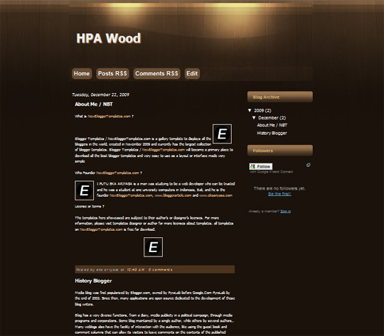 HPA Wood