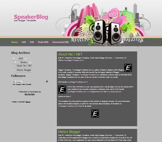 SpeakerBlog