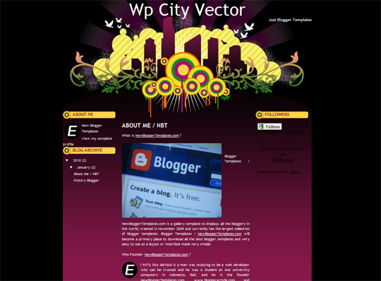 Wp City Vector