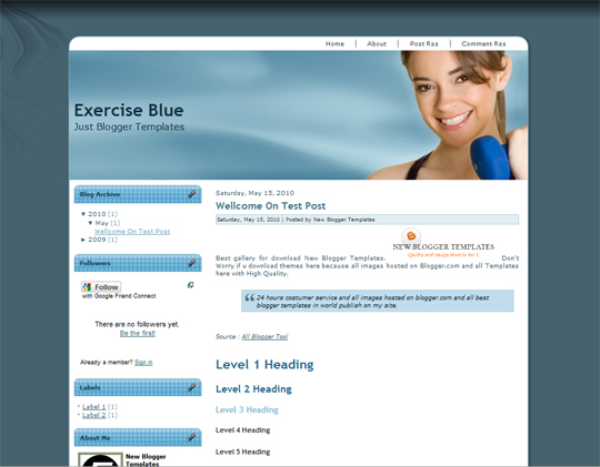 Exercise Blue
