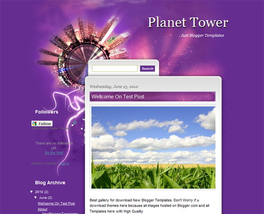 Planet Tower