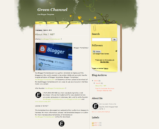 Green Channel