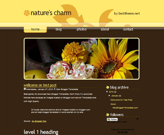 Natures Charm
