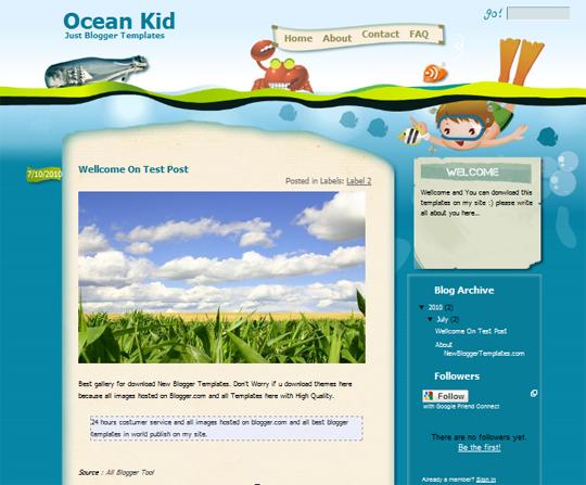 Ocean Kid