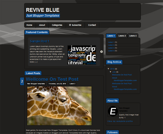 Revive Blue