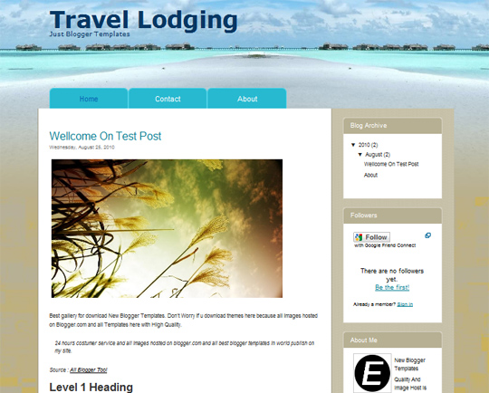 Travel Lodging