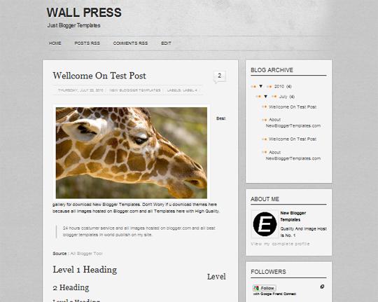 Wall Press