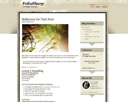 FolioSharp