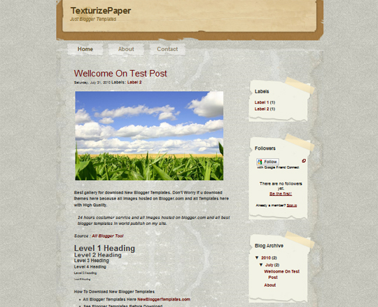 TexturizePaper