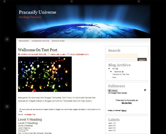 Pracasify Universe