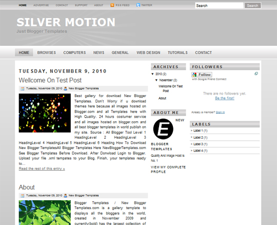 Silver Motion