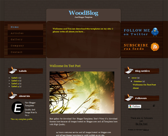 WoodBlog