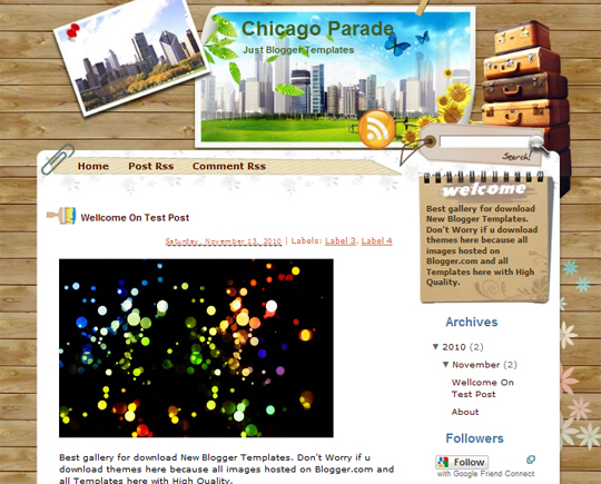 Chicago Parade