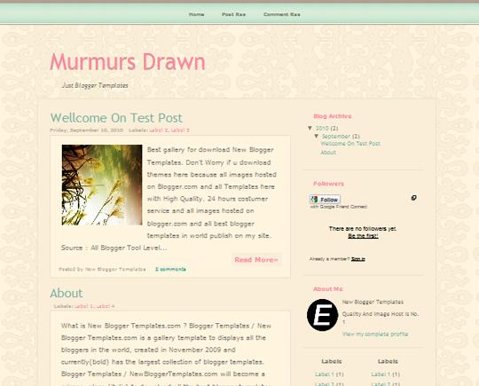 Murmurs Drawn