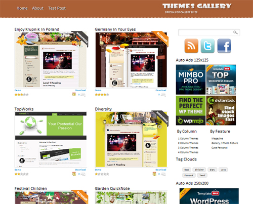 Themes Gallery