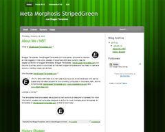 Meta Morphosis StripedGreen