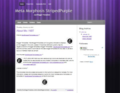 Meta Morphosis StripedPurple