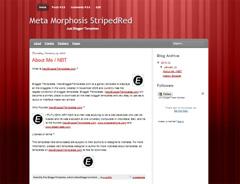 Meta Morphosis StripedRed
