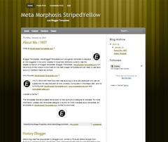 Meta Morphosis Yellow