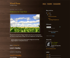 Wood Press
