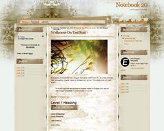 Notebook 20