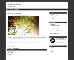 WebDezine Thesis