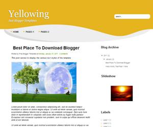 Yellowing